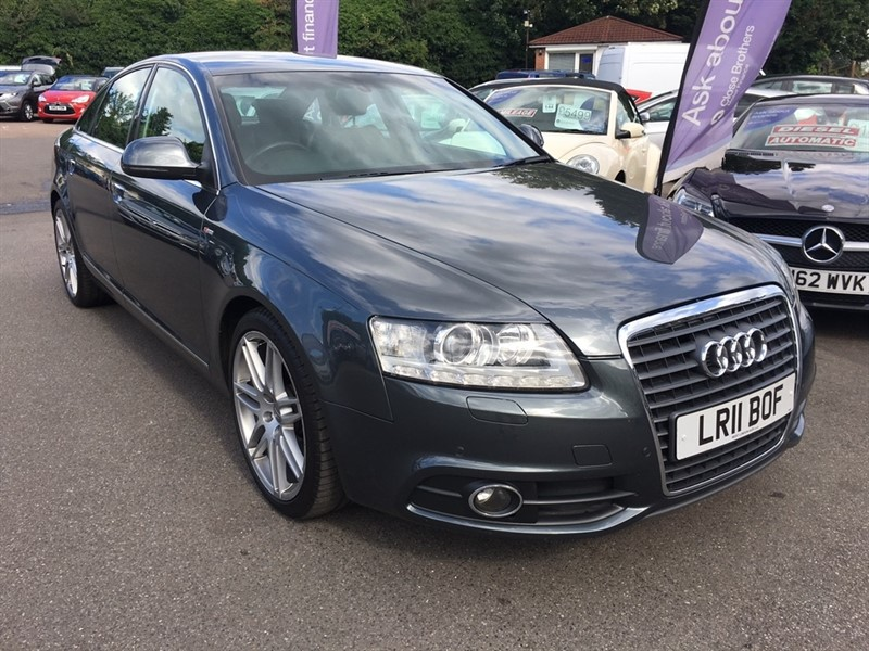 used Audi A6 Saloon TDI S Line Special Edition Multitronic 4dr in rochester-kent
