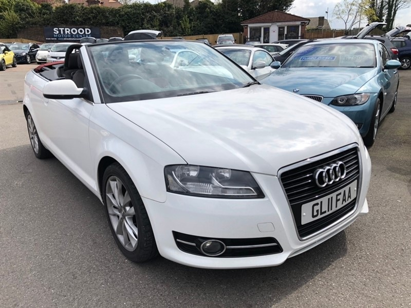 used Audi Cabriolet TFSI Sport 2dr in rochester-kent