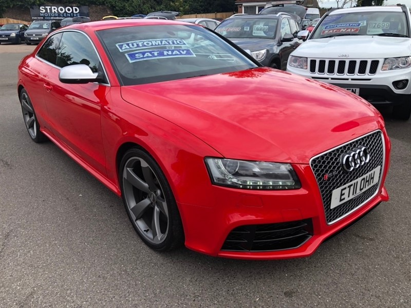 used Audi RS5 FSI S Tronic quattro 3dr in rochester-kent