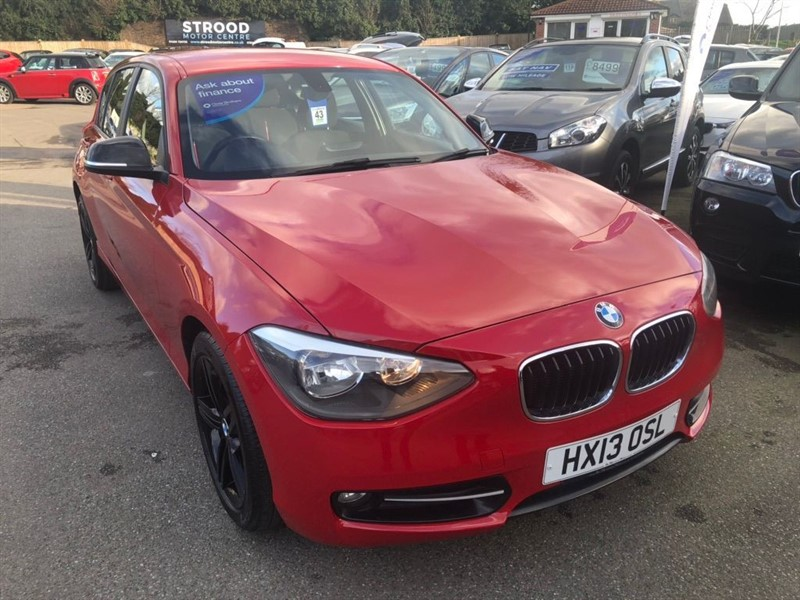 used BMW 114i 1 Series Sport Sports Hatch 5dr in rochester-kent