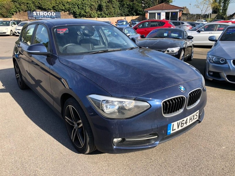 used BMW 116d Sport Sports Hatch (s/s) in rochester-kent