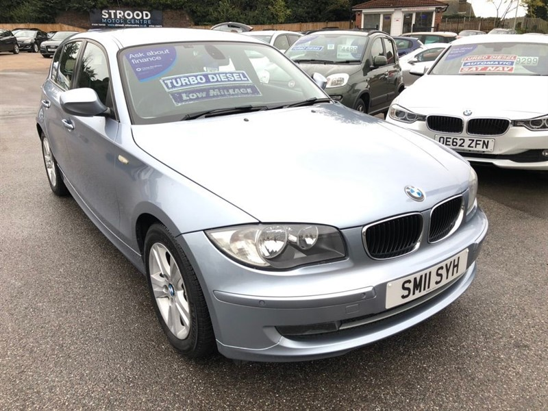 used BMW 116d 1 Series SE 5dr in rochester-kent