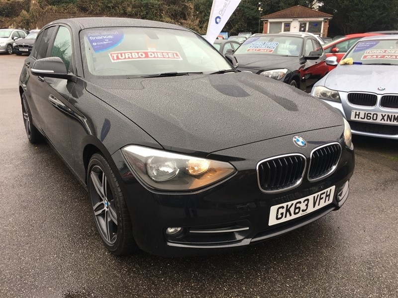 used BMW 116d 1 Series Sport Sports Hatch 5dr (start/stop) in rochester-kent