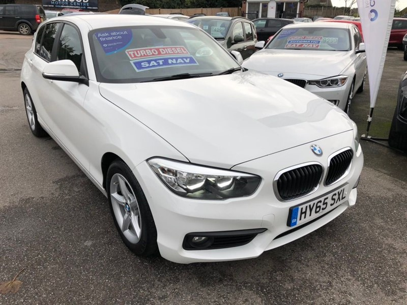 used BMW 116d 1 Series ED Plus (s/s) 5dr in rochester-kent