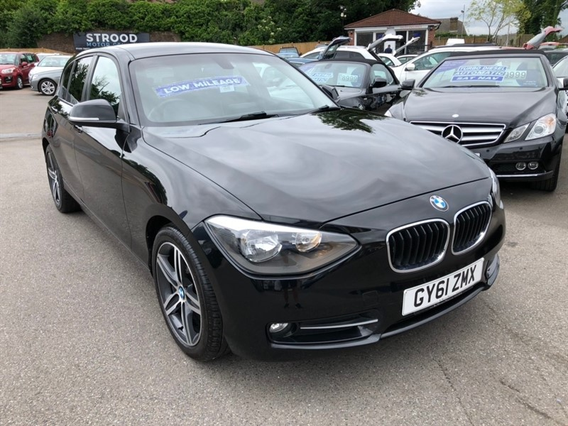 used BMW 116i 1 Series Sport 5dr in rochester-kent