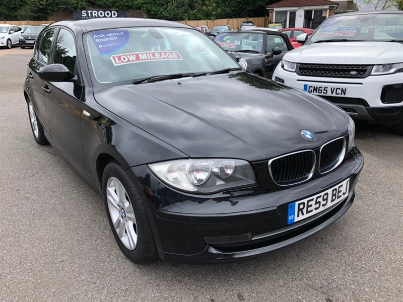 used BMW 116i 1 Series SE 5dr in rochester-kent