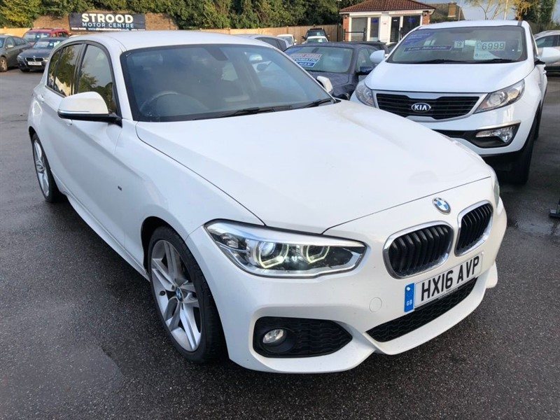 used BMW 118d 1 Series M Sport (s/s) 5dr in rochester-kent