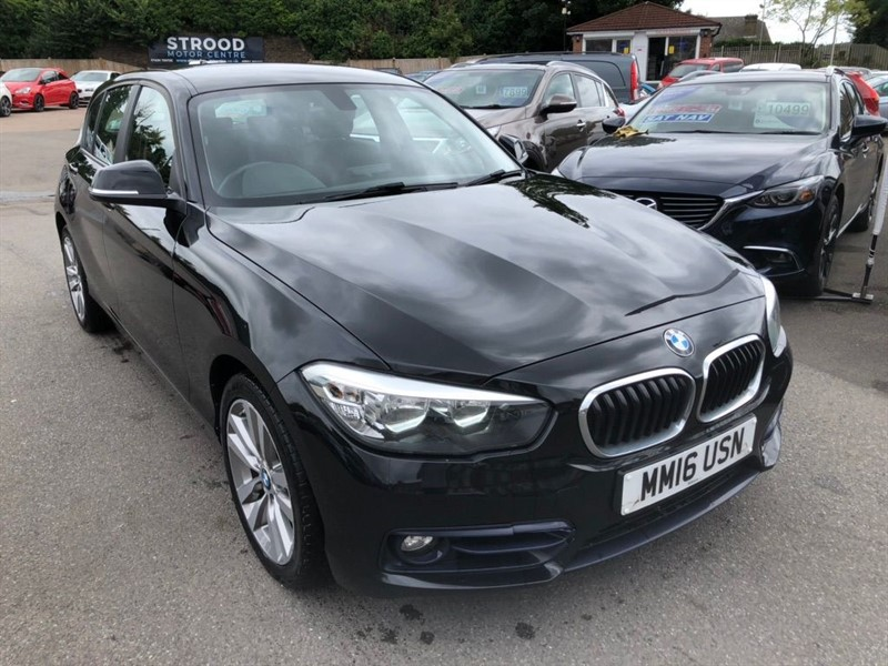 used BMW 118d Sport (s/s) in rochester-kent