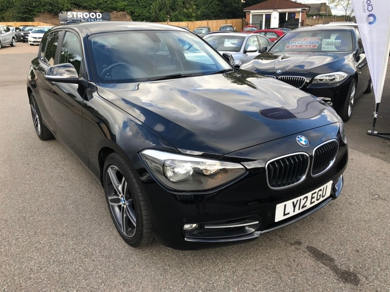 used BMW 118i 1 Series Sport Sports Hatch 5dr in rochester-kent