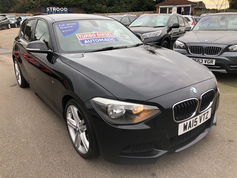used BMW 120d M Sport Sports Hatch (s/s) in rochester-kent
