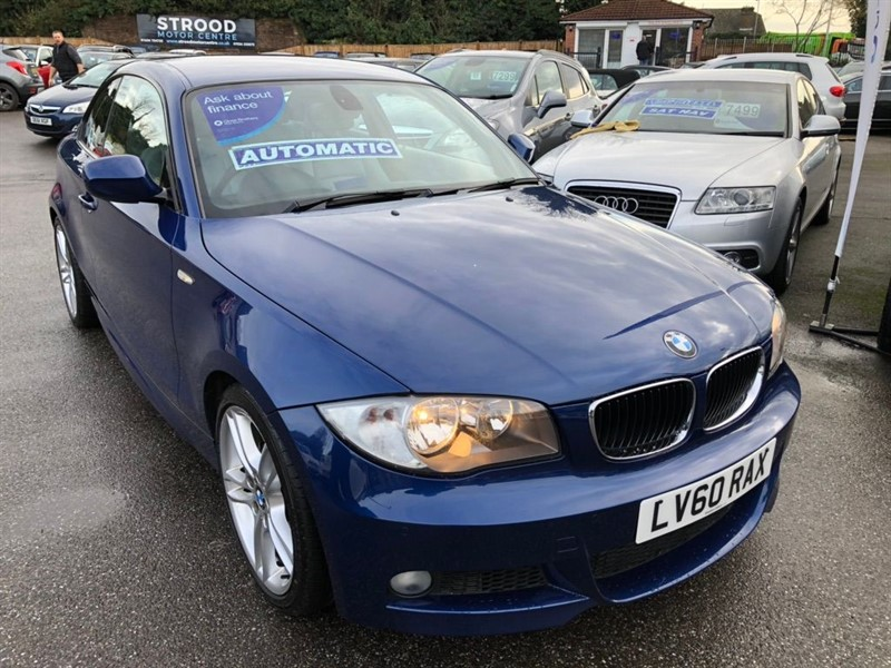 used BMW 120i 1 Series M Sport 2dr in rochester-kent