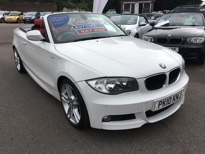 used BMW 123d 1 Series M Sport 2dr in rochester-kent