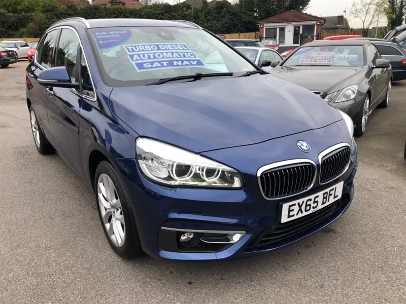 used BMW 218d 2 Series Active Tourer Luxury (s/s) 5dr in rochester-kent
