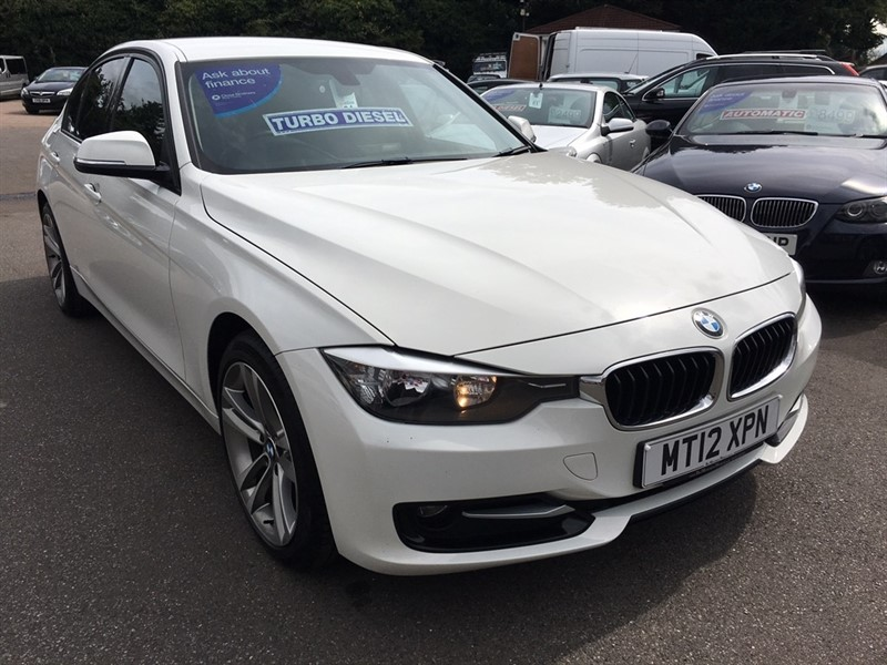 used BMW 318d 3 Series Sport 4dr (start/stop) in rochester-kent