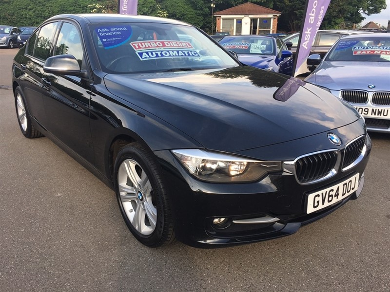 used BMW 320d 3 Series Sport 4dr (start/stop) in rochester-kent