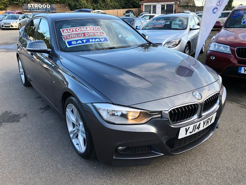 used BMW 320d 3 Series M Sport (s/s) 4dr in rochester-kent