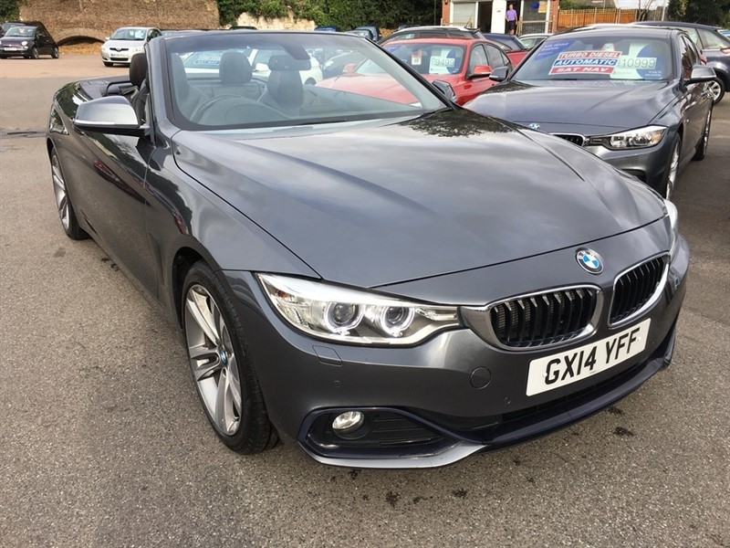 used BMW 420d 4 Series Sport 2dr in rochester-kent