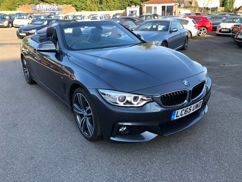 used BMW 420d M Sport in rochester-kent