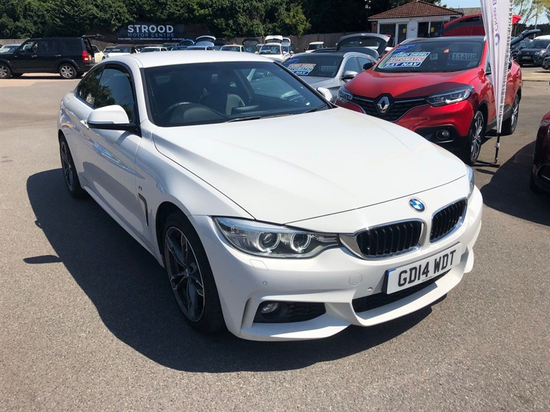used BMW 420d M Sport xDrive in rochester-kent
