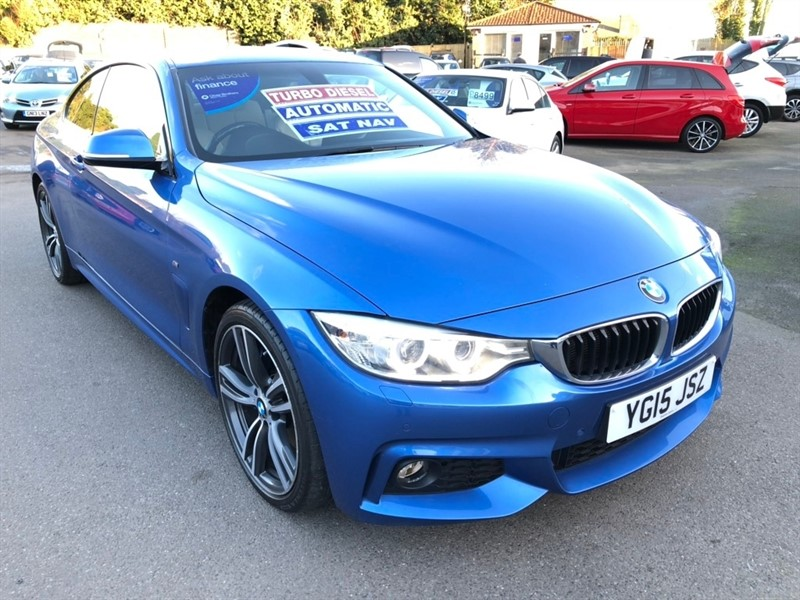 used BMW 420d 4 Series M Sport xDrive 2dr in rochester-kent