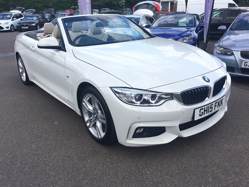 used BMW 428i 4 Series M Sport 2dr in rochester-kent