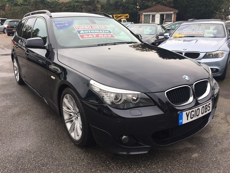 used BMW 520d 5 Series M Sport Business Edition Touring 5dr in rochester-kent