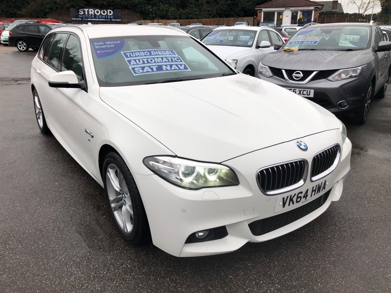 used BMW 520d M Sport Touring in rochester-kent