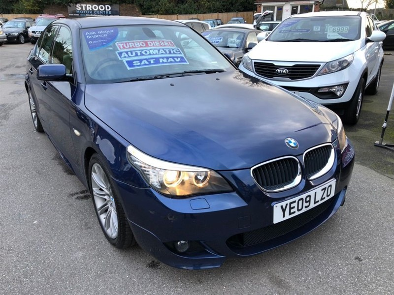 used BMW 520d 5 Series M Sport 4dr in rochester-kent