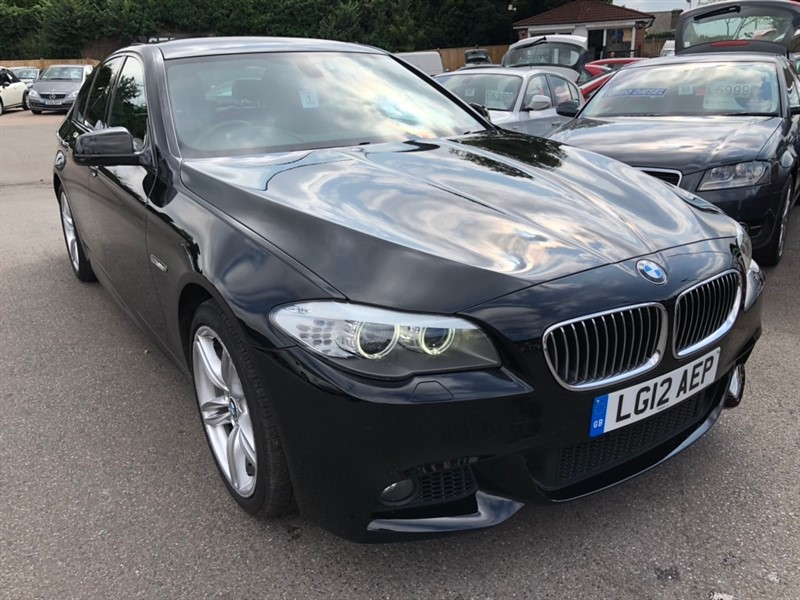 used BMW 520d 5 Series BluePerformance M Sport 4dr in rochester-kent