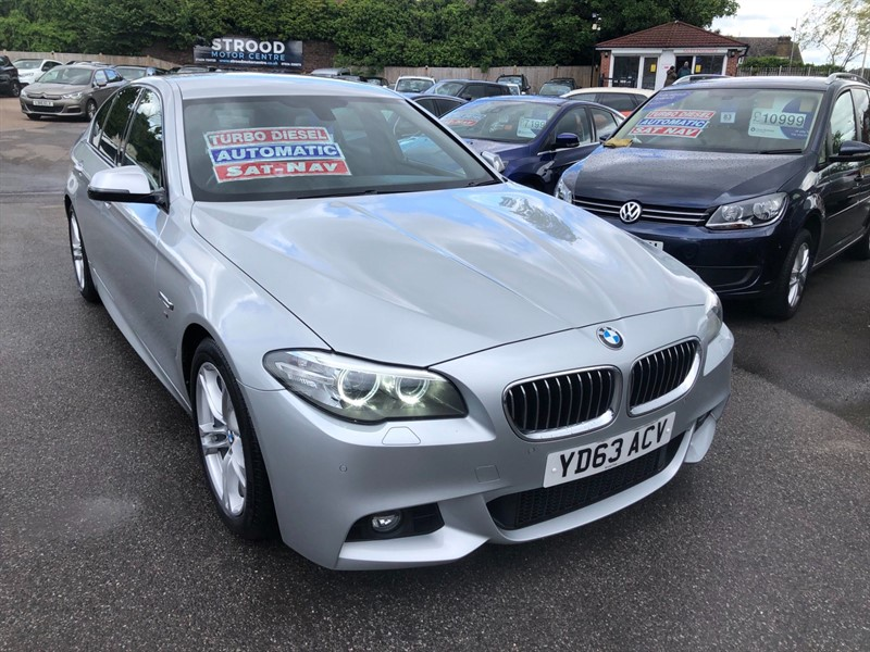 used BMW 520d M Sport in rochester-kent