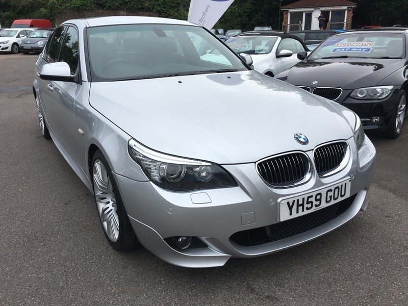 used BMW 525d 5 Series M Sport Business Edition 4dr in rochester-kent
