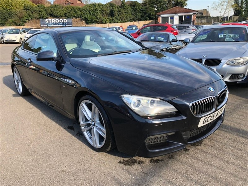 used BMW 640d M Sport Steptronic in rochester-kent
