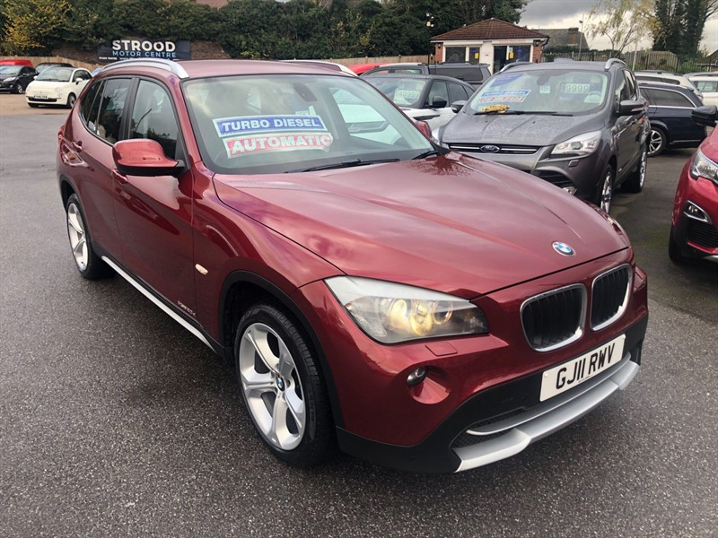 used BMW X1 20d SE Auto xDrive in rochester-kent