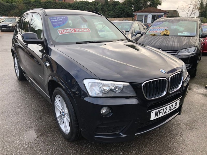 used BMW X3 20d M Sport xDrive 5dr in rochester-kent