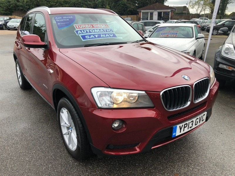 used BMW X3 20d SE xDrive 5dr in rochester-kent