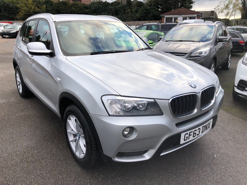 used BMW X3 20d SE xDrive in rochester-kent