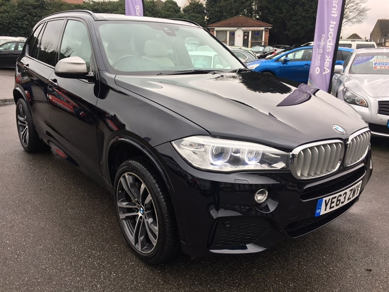 used BMW X5 50d M 4x4 5dr (start/stop) in rochester-kent
