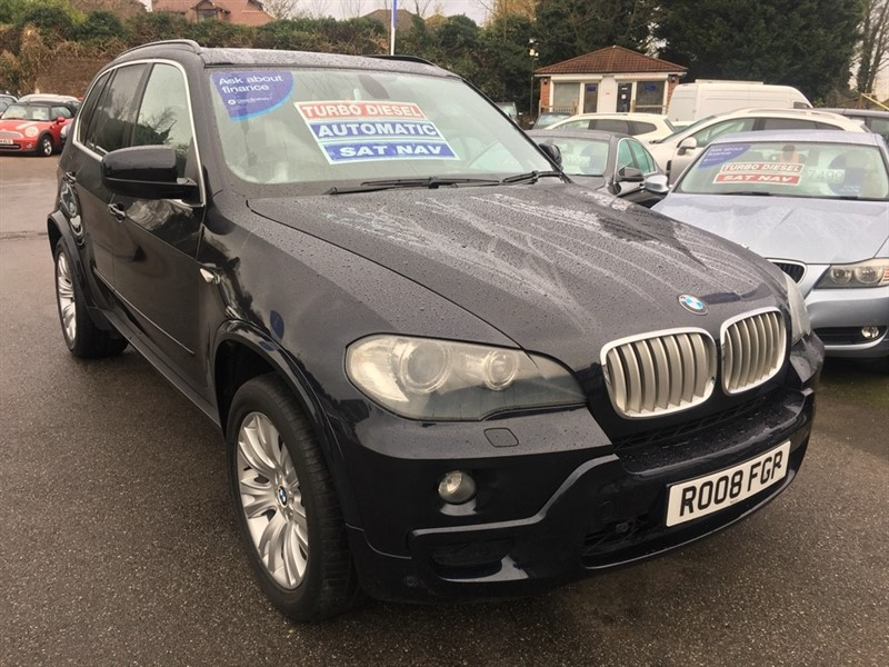used BMW X5 30sd M Sport 5dr in rochester-kent