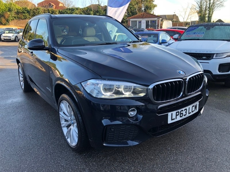used BMW X5 30d M Sport xDrive (s/s) 5dr in rochester-kent