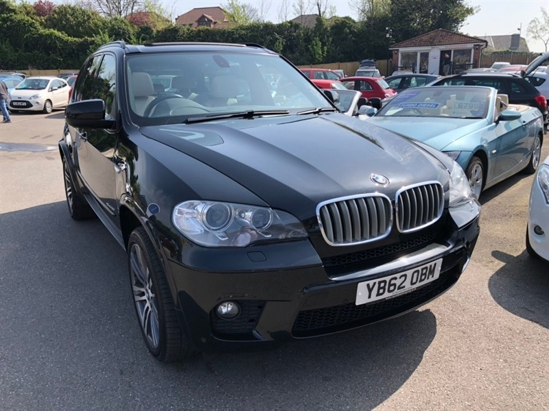 used BMW X5 40d M Sport xDrive (s/s) 5dr in rochester-kent