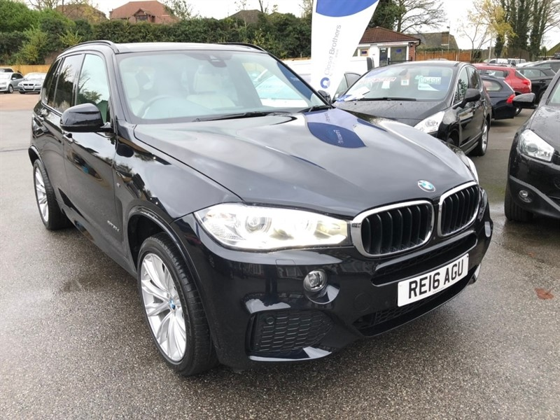used BMW X5 30d M Sport Steptronic xDrive (s/s) 5dr in rochester-kent