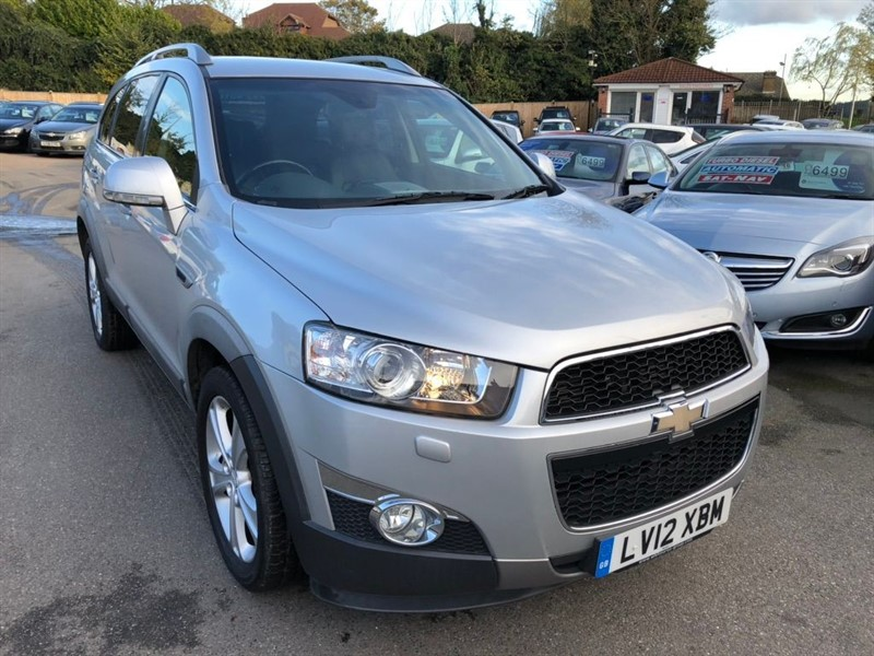 used Chevrolet Captiva VCDi LTZ 5dr (7 Seats) in rochester-kent