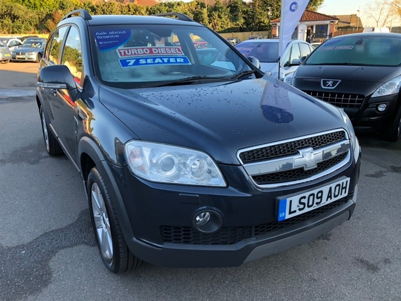 used Chevrolet Captiva CDTi LTX 5dr (7 Seats) in rochester-kent