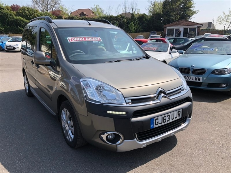 used Citroen Berlingo HDi XTR 5dr in rochester-kent
