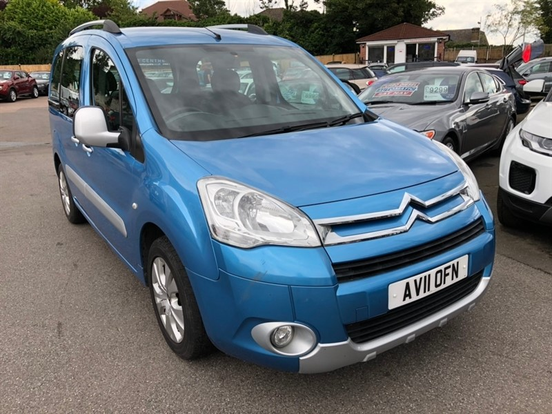 used Citroen Berlingo TD Plus Multispace Special Edition Estate 5dr in rochester-kent