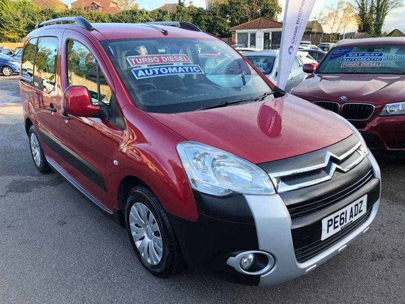 used Citroen Berlingo TD XTR Estate EGS6 5dr in rochester-kent