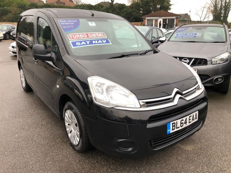 used Citroen Berlingo HDi L1 625 Enterprise Panel Van 5dr in rochester-kent