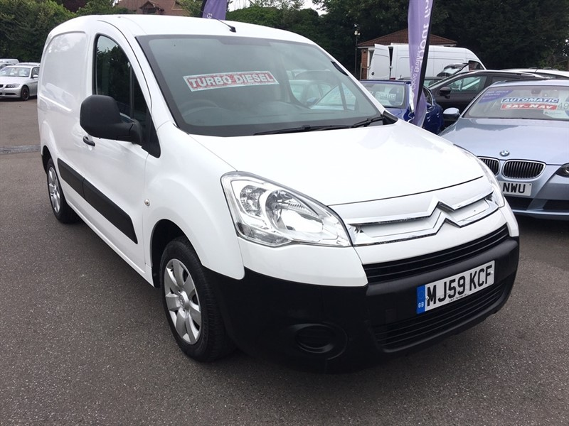used Citroen Berlingo HDi L1 625 LX Panel Van 5dr in rochester-kent