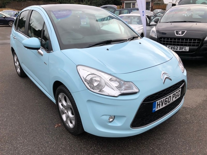 used Citroen C3 VTi 16v Exclusive 5dr in rochester-kent
