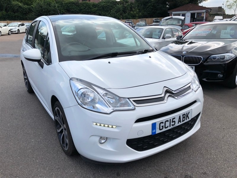 used Citroen C3 PureTech Selection 5dr in rochester-kent